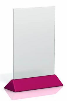 Менюхолдер Розовый А5