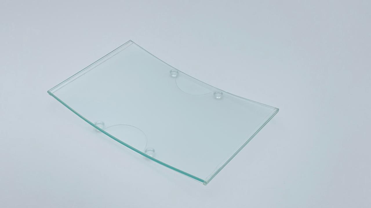 Монетница из стекла Cristal CLEAR III