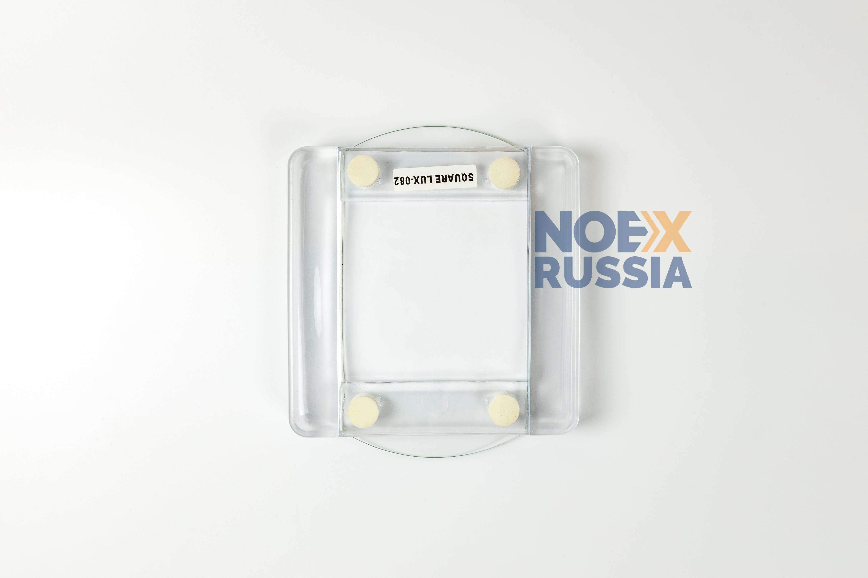 Monetnica iz plastika i stekla SQUARE BASE foto2