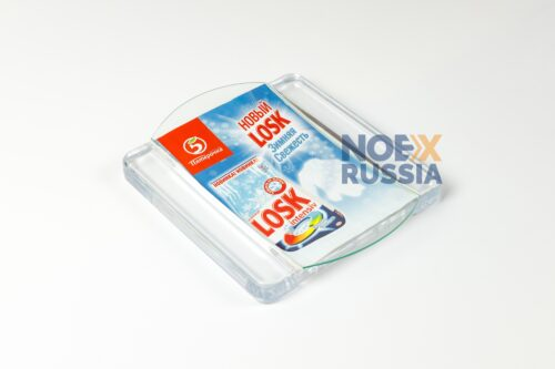 Monetnica iz plastika i stekla SQUARE BASE (1)