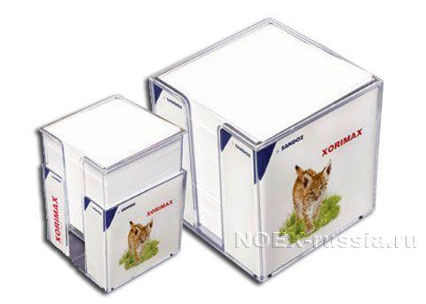 прозрачный контейнер для стикеров