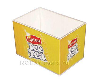 ящик для бумаги из акрилового и стиролового пластика