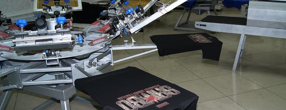 Шелкография - трафаретная печать на изделиях