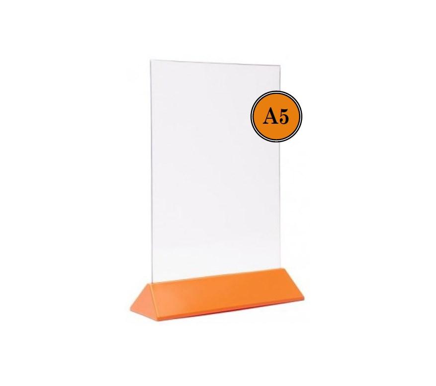 Тейбл Тент А5 оранжевое основание