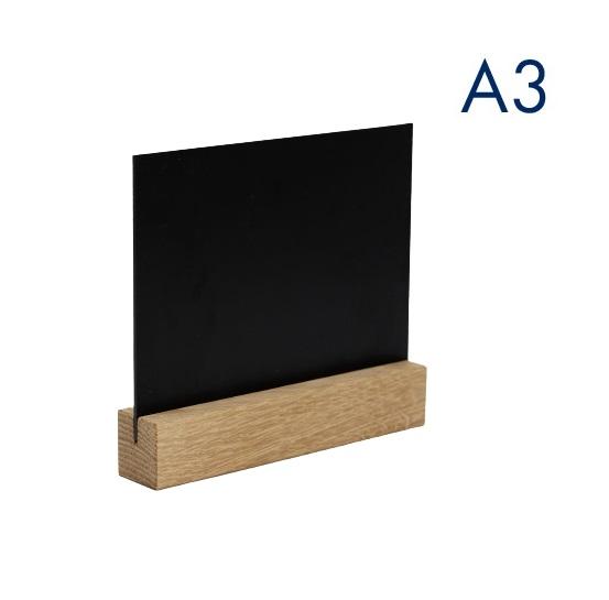горизонтальный меловой менюхолдер а3