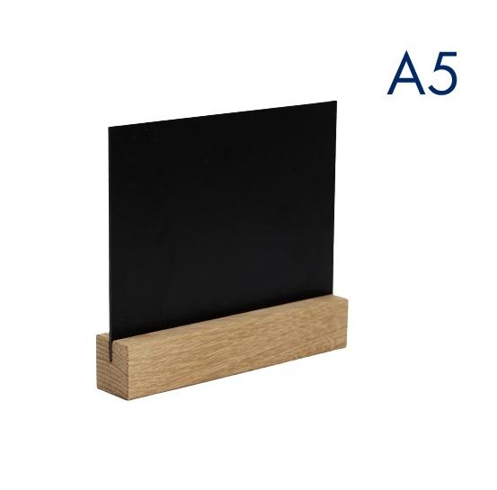 горизонтальный меловой менюхолдер а5