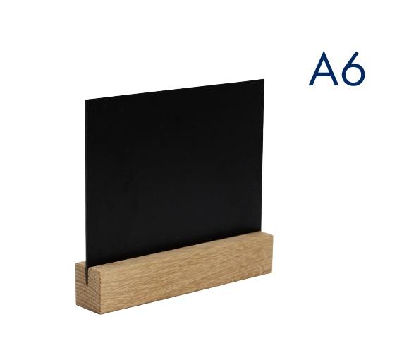 горизонтальный меловой менюхолдер а6