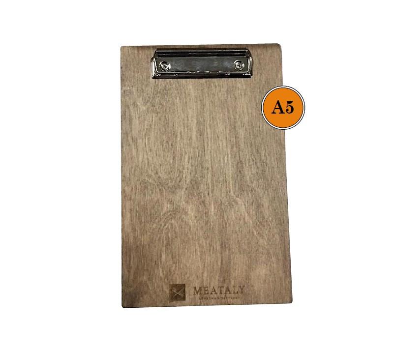Планшетка деревянная А5 - окрашенная