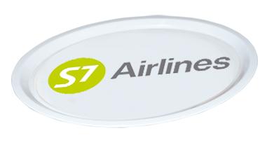 Фото поднос S7 Airlines
