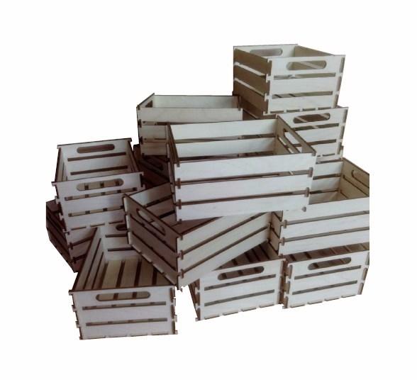 Коробка для чеков деревянная 2