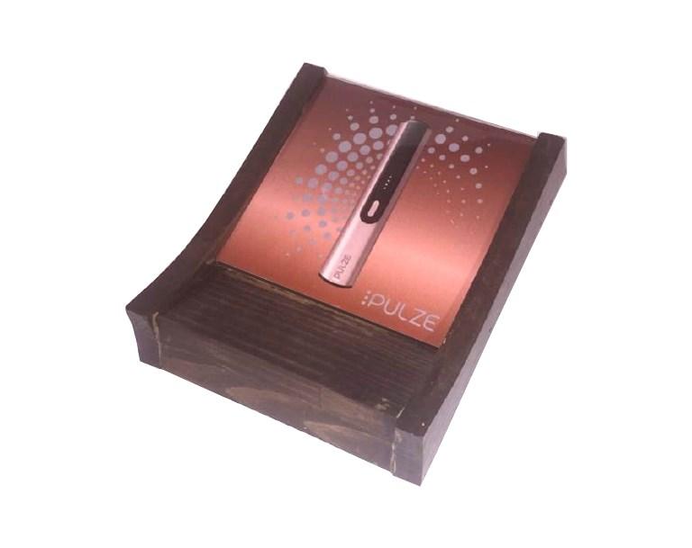 Монетница деревянная вид сбоку