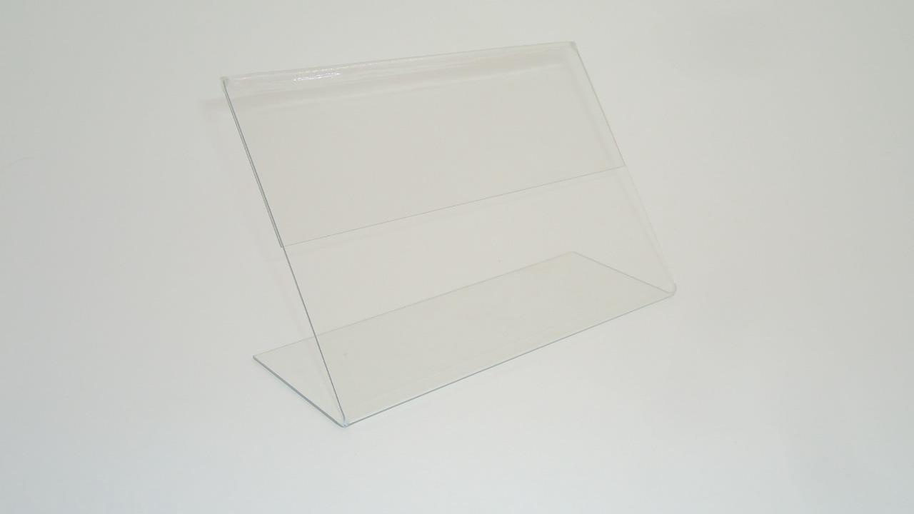 Тейбл тент Г-образный прозрачный