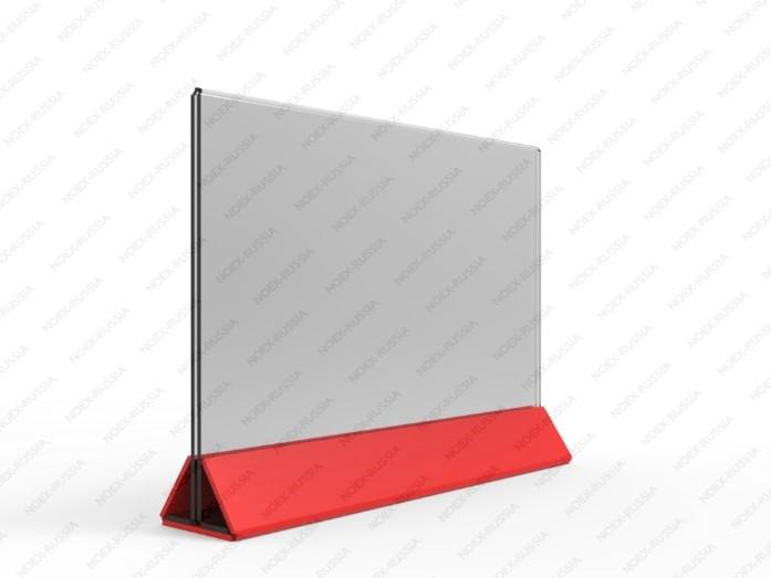 Тейбл тент горизонтальный красный А4