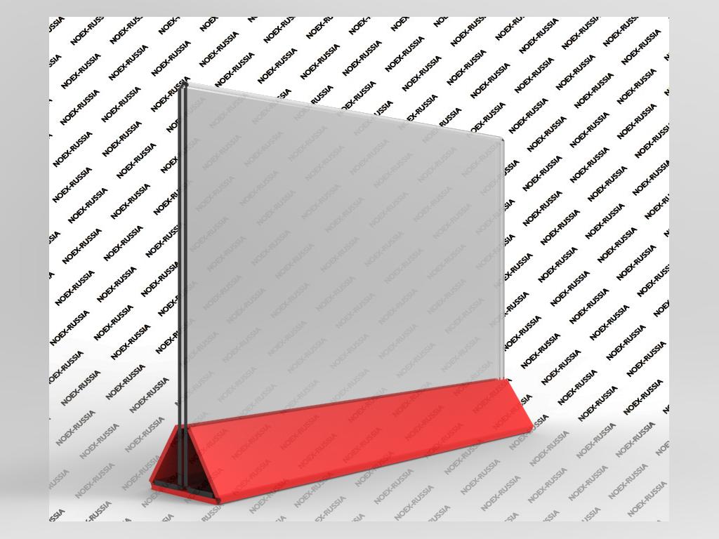 Тейбл тент А4 с цветным основанием горизонтальный купить