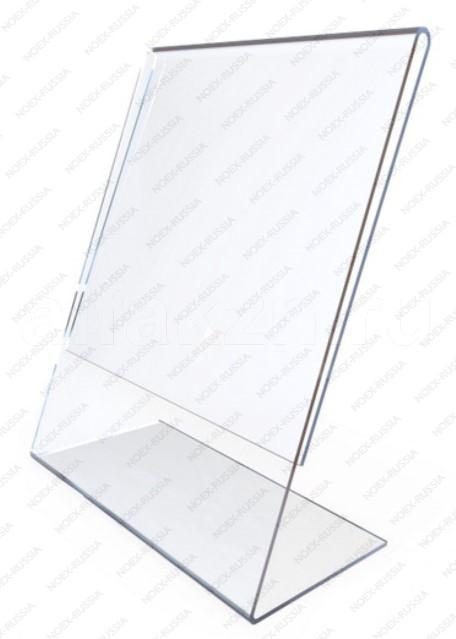 Тейбл тент А5 Г-образный из акрила