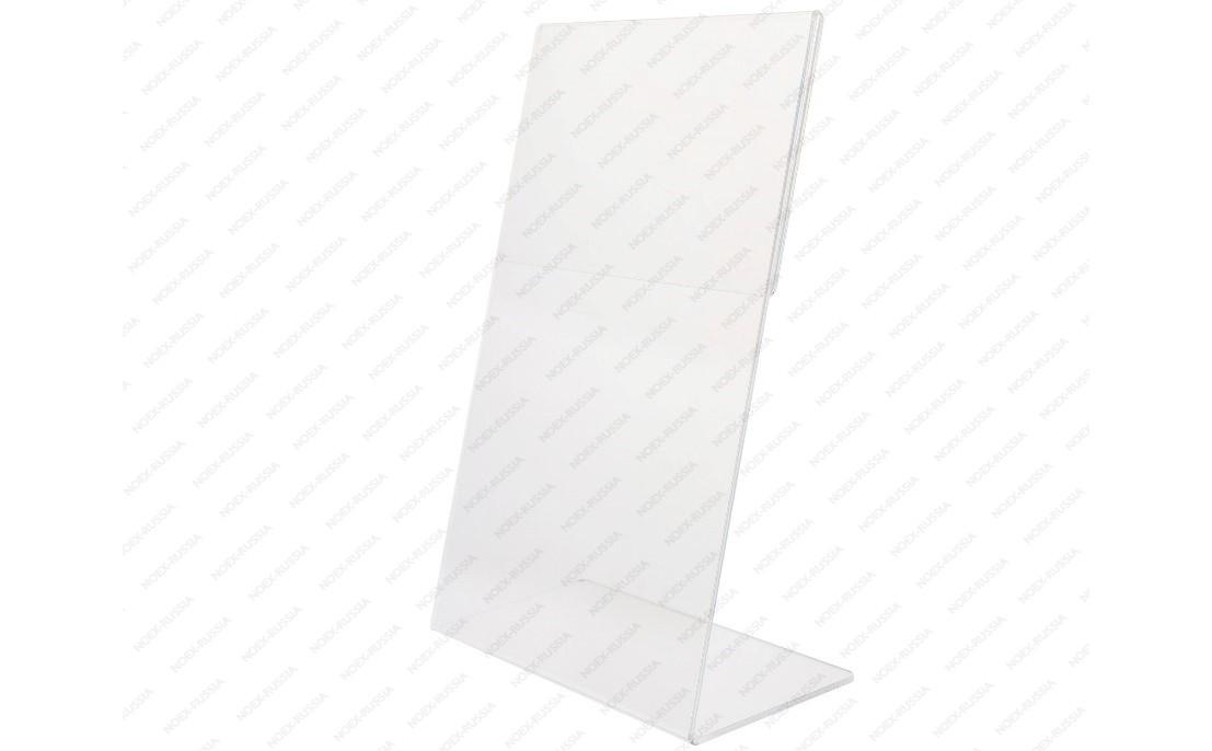 Тейбл тент А5 Г-образный прозрачный