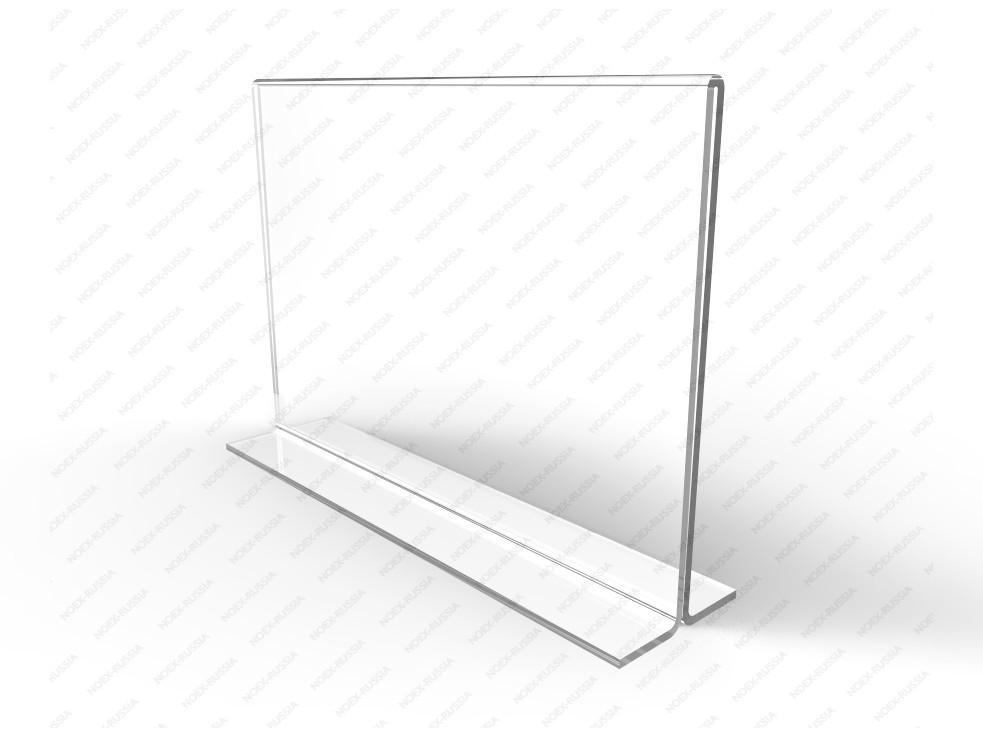 Тейбл тент А5 горизонтальный прозрачный