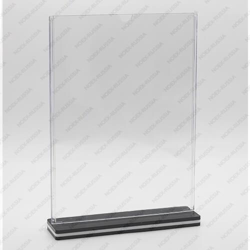 тейбл тент А6 купить от производителя вертикальных с пластиковым основанием
