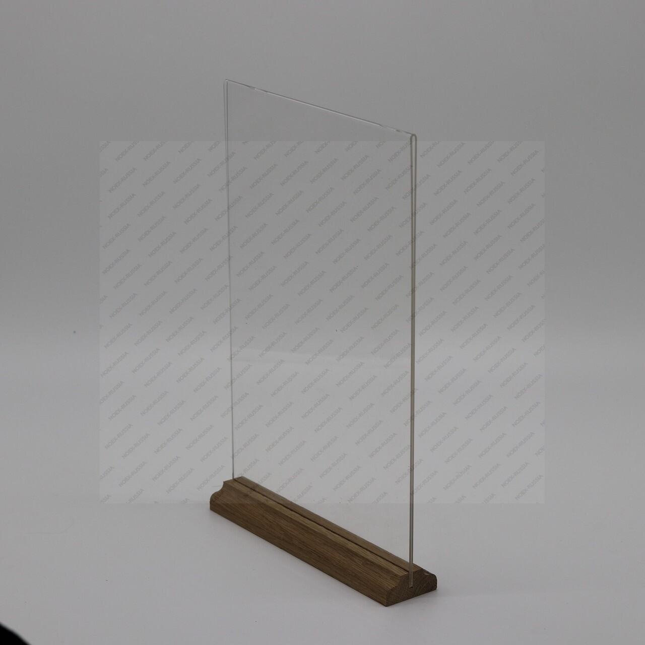 тейбл тентов А6 от производителя вертикальных с деревянным основанием