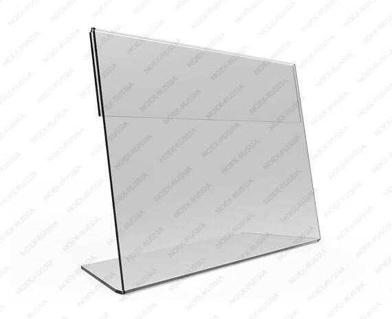 Тейбл тент А6 горизонтальный пластиковый от производителя