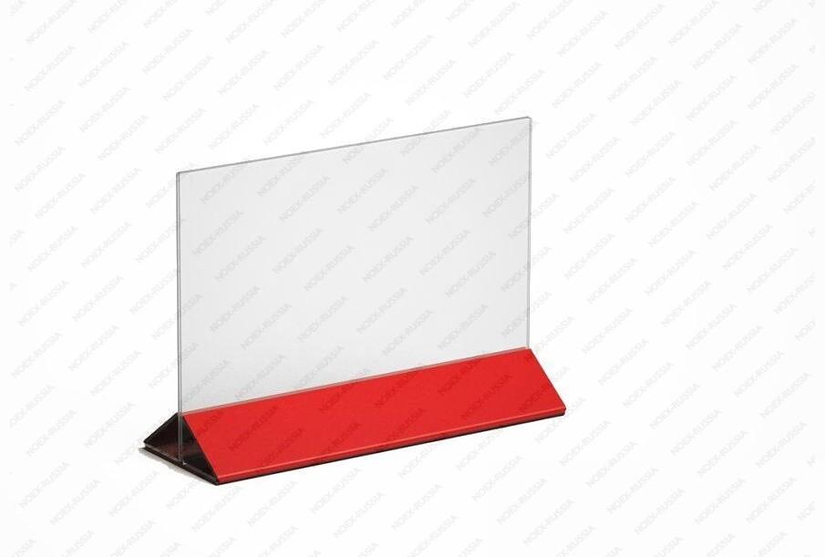 Тейбл тенты и менюхолдеры А3 горизонтальные с цветным основанием интернет магазин