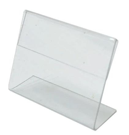 пластиковый ценник Л образный