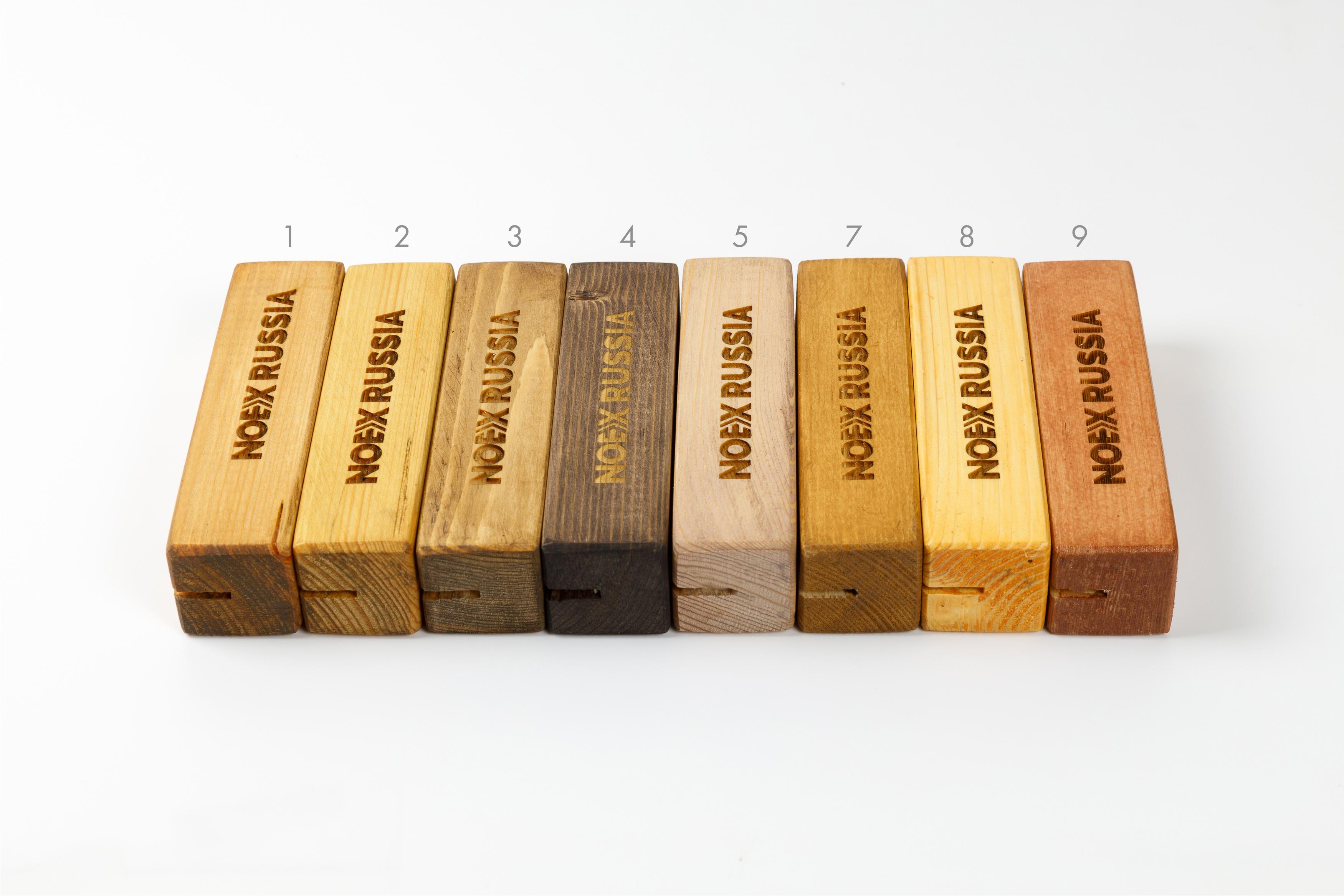 цветные деревянные окрашенные подставки для тейбл тентов