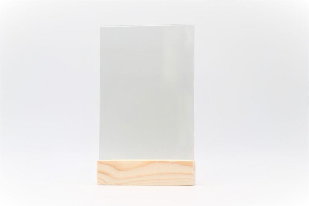 Менюхолдер (тейбл тент) А4 вертикальный