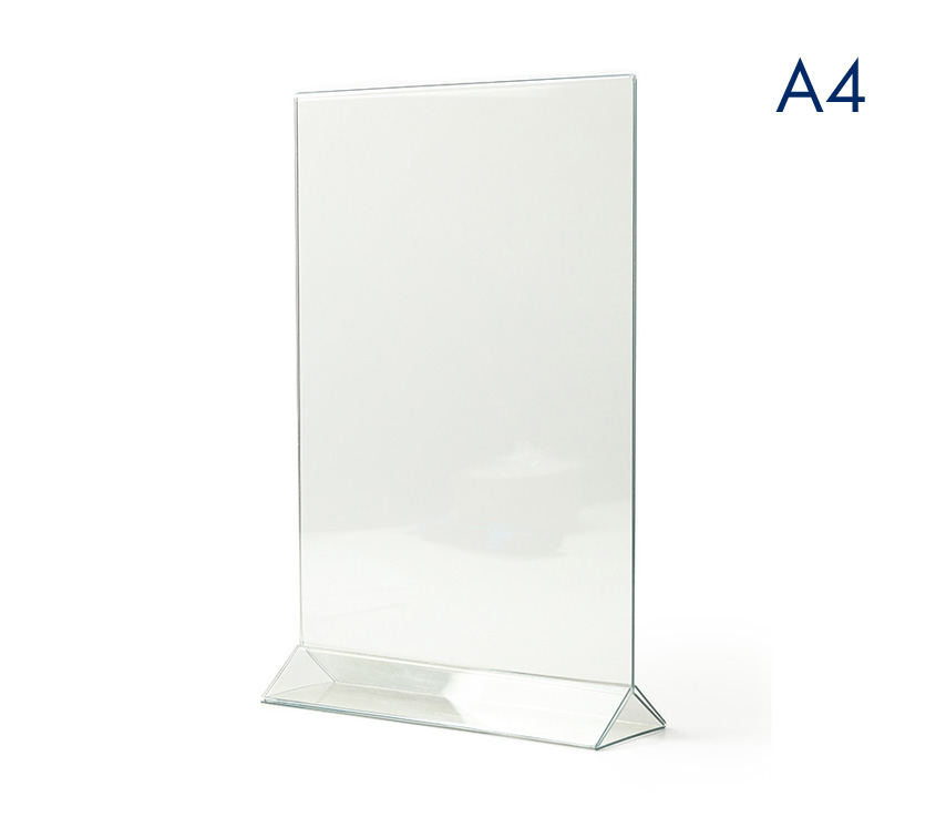менюхолдер пластиковый а4