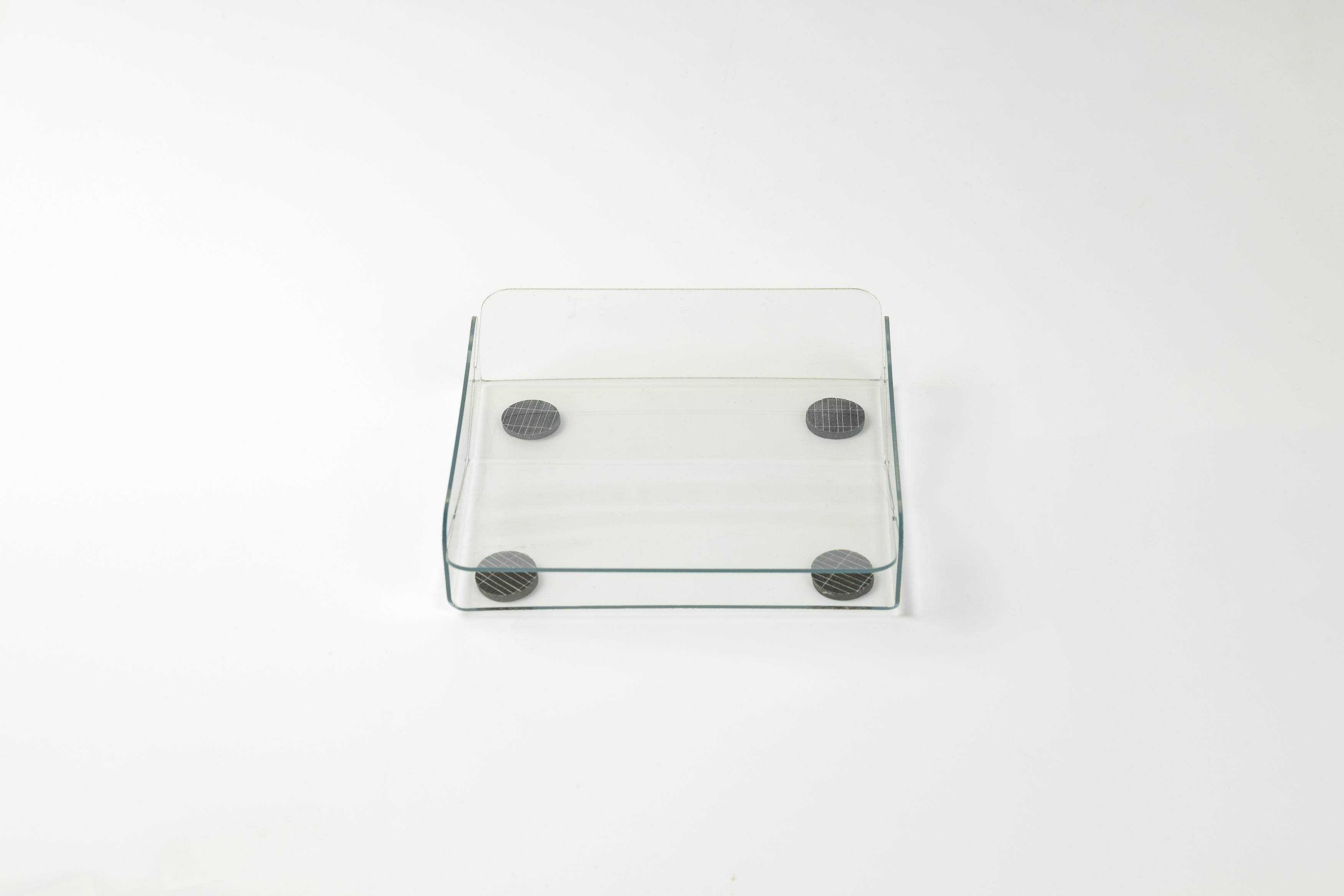 Прозрачная монетница из полистирола на заказ