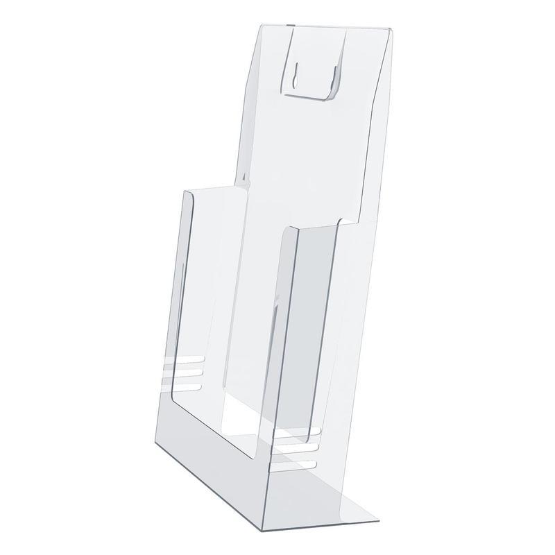 Надежные пластиковые буклетницы из ПЭТ и оргстекла