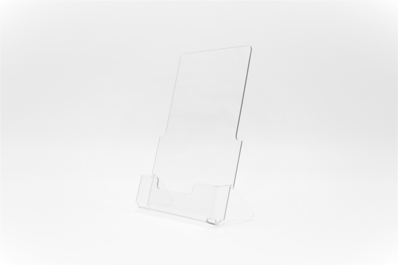 Буклетница настольная пластиковая А6