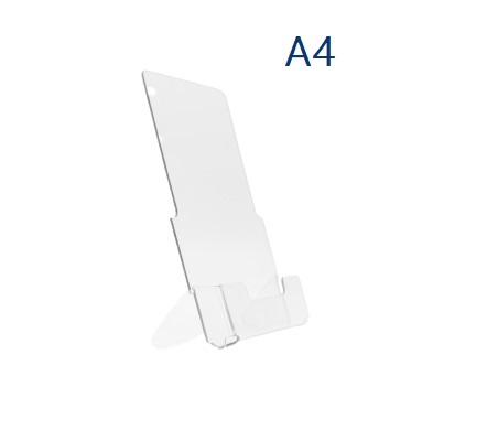 Буклетница настольная пластиковая А4