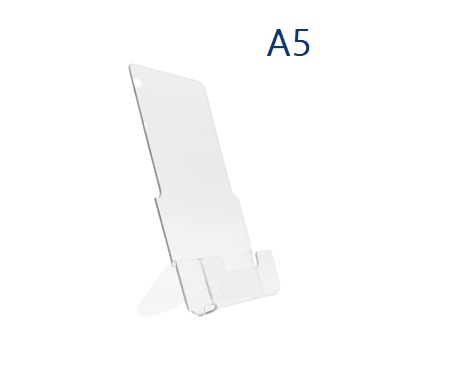 Буклетница настольная пластиковая А5