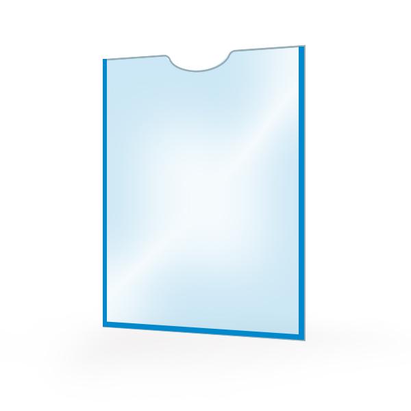 Карман для стенда А4 самоклеющийся вертикальный