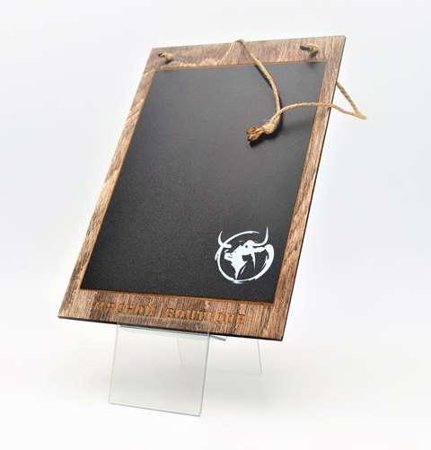 деревянный планшет с уф-печатью на заказ