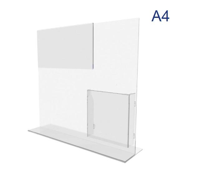 менюхолдер с буклетницей формата А4